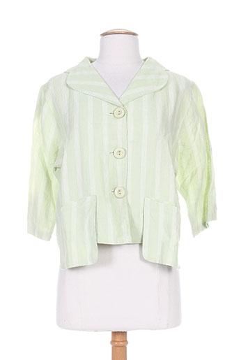kokomarina vestes femme de couleur vert