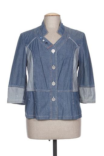 lewinger chemises femme de couleur bleu