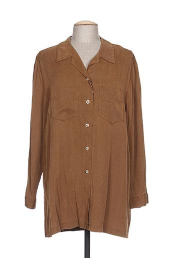 rosa rosam chemises femme de couleur marron