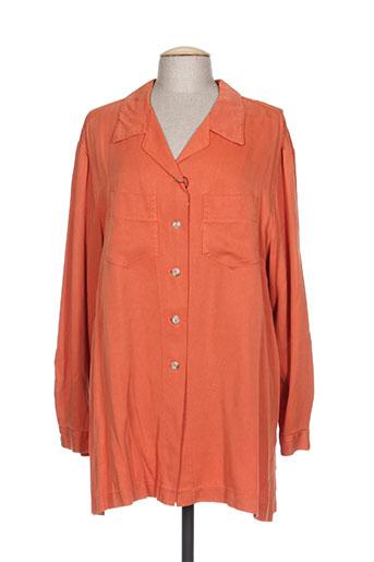rosa rosam chemises femme de couleur orange