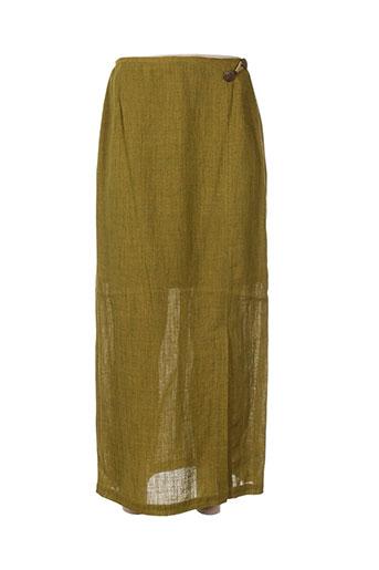 coco menthe jupes femme de couleur vert