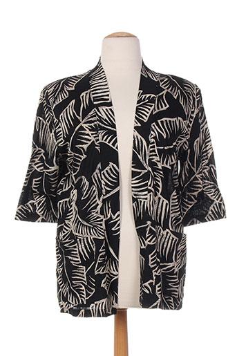 chassagnard vestes femme de couleur noir