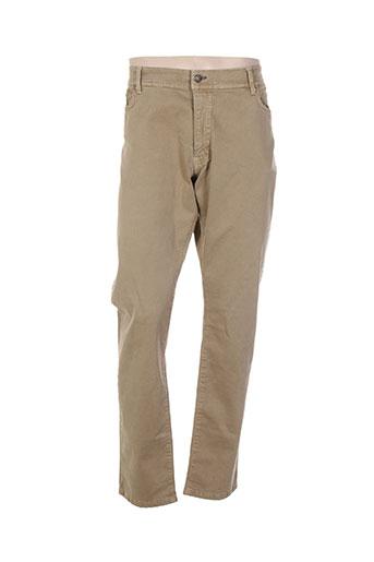 mcs jeans homme de couleur beige