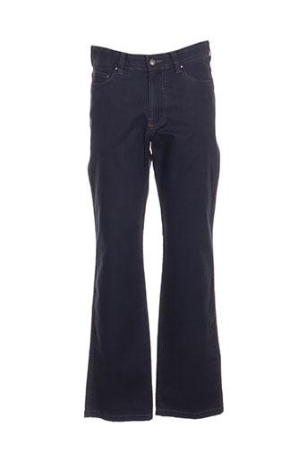 brühl pantalons homme de couleur bleu