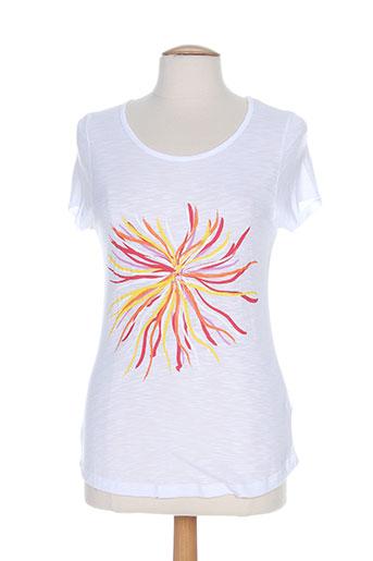 leyenda EFFI_CHAR_1 co t-shirts femme de couleur blanc