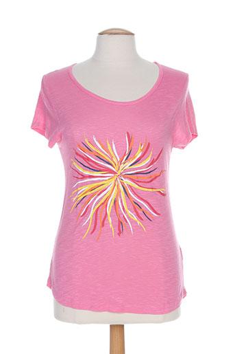 leyenda EFFI_CHAR_1 co t-shirts femme de couleur rose