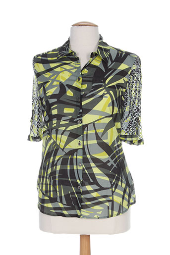 my way chemises femme de couleur vert