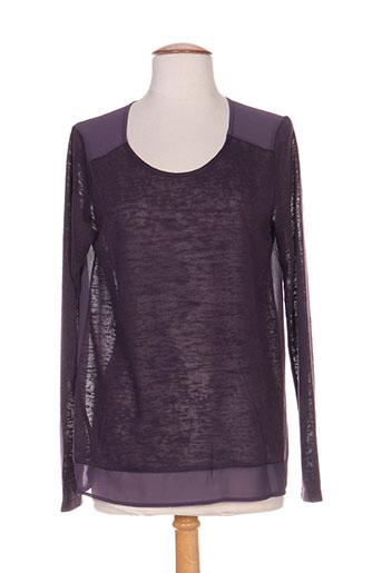 co2 chemises femme de couleur violet