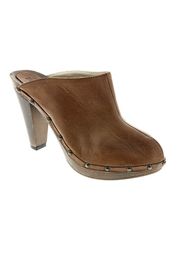 meline chaussures femme de couleur marron