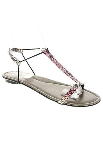 sms chaussures femme de couleur rose
