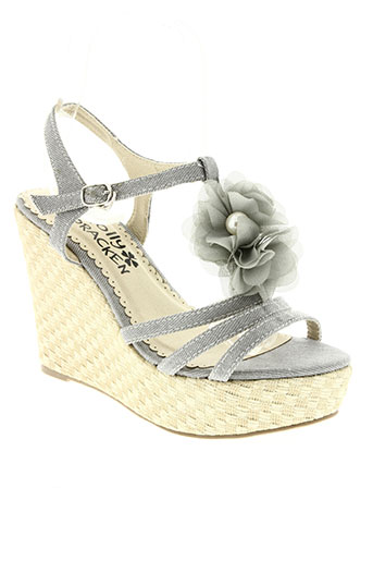 molly bracken chaussures femme de couleur gris