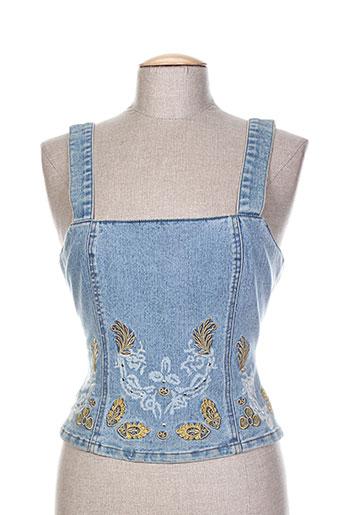 infinitif chemises femme de couleur bleu