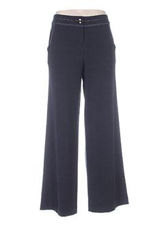 Pantalon casual bleu ELLA pour femme