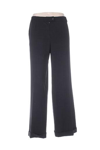 ella pantalons femme de couleur noir