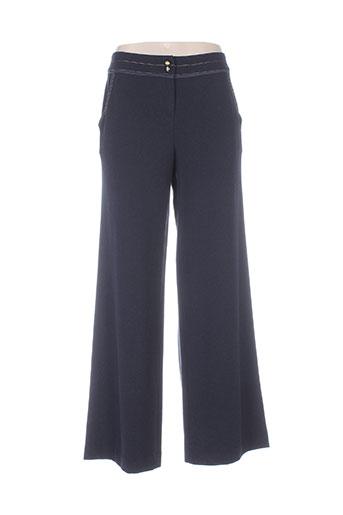 ella pantalons femme de couleur bleu