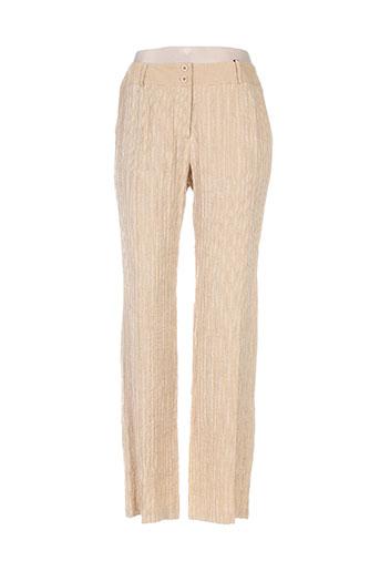 Pantalon casual beige INFINITIF pour femme