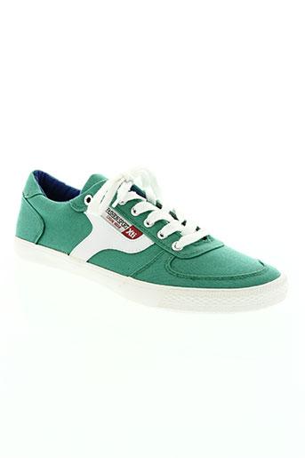 xti chaussures homme de couleur vert