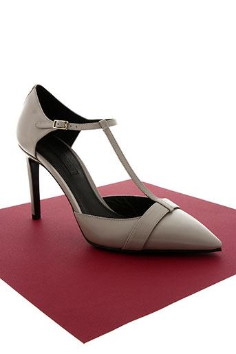 hugo boss chaussures femme de couleur gris