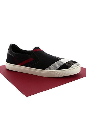 burberry chaussures homme de couleur bleu