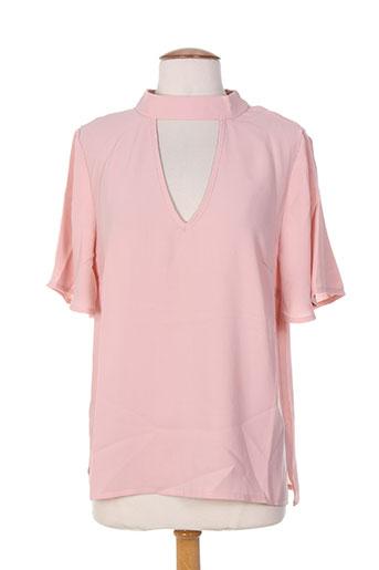attentif chemises femme de couleur rose