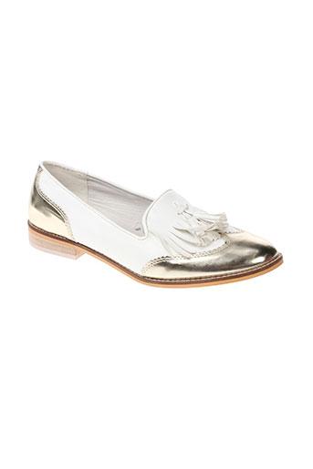 vero moda chaussures femme de couleur blanc