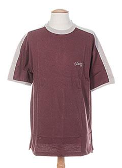 Produit-T-shirts / Tops-Homme-SCHOTT
