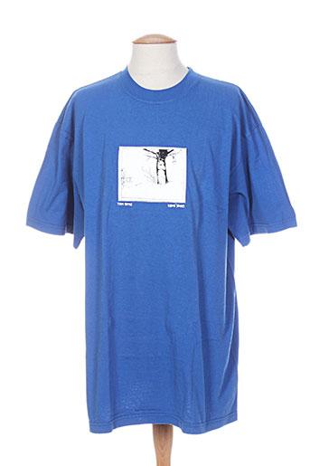 vans t-shirts / tops homme de couleur bleu
