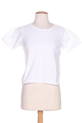 lola bonaventure t-shirts femme de couleur blanc