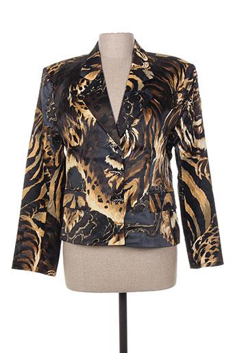 nathalie chaize vestes femme de couleur marron