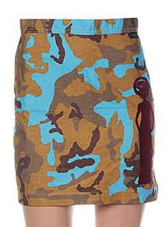 Jupe courte bleu BUFFALO pour femme