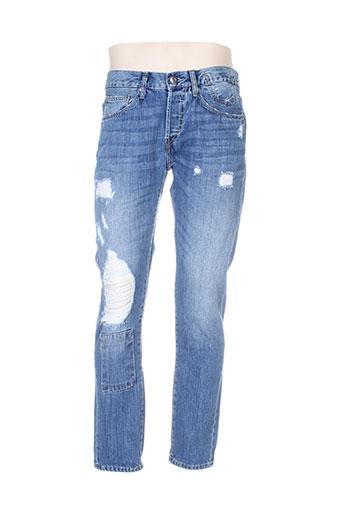 tiffosi jeans homme de couleur bleu