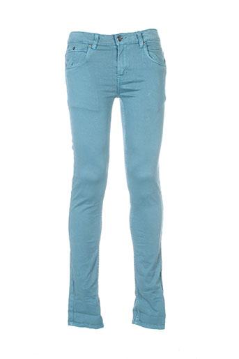 garcia pantalons garçon de couleur vert