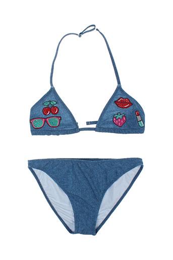 mayoral maillots de bain fille de couleur bleu