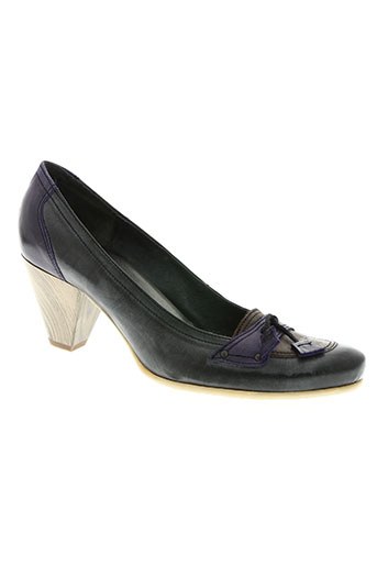 mondrie chaussures femme de couleur noir