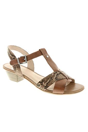 sweet chaussures femme de couleur marron