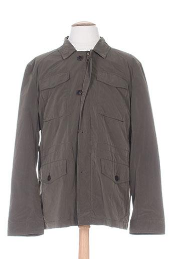 cambridge manteaux homme de couleur vert