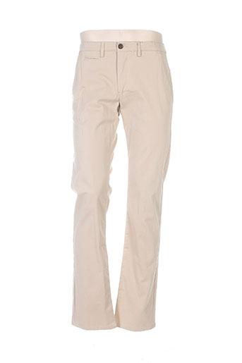 cambridge pantalons homme de couleur marron