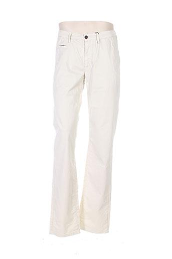 cambridge pantalons homme de couleur beige