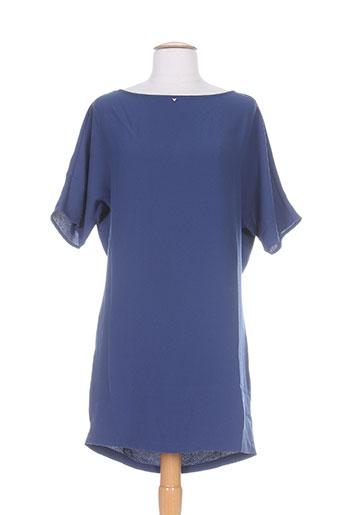 guess robes femme de couleur bleu