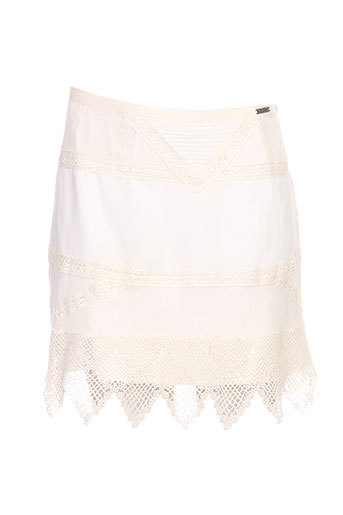 guess jupes femme de couleur blanc