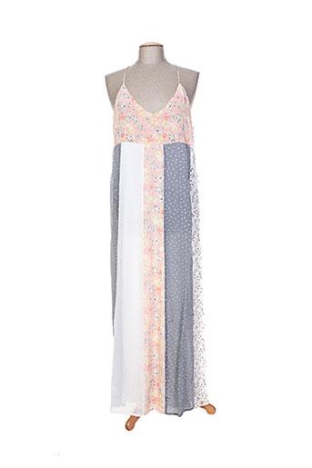 i.code (by ikks) robes femme de couleur gris