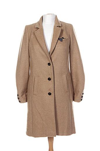 chipie manteaux femme de couleur marron