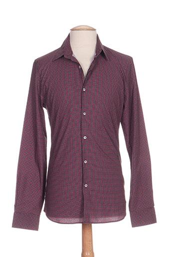 marciano chemises homme de couleur violet