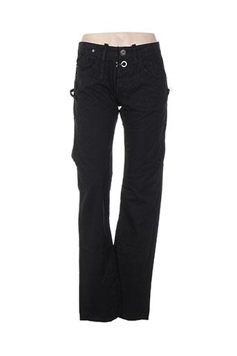 bray steve alan pantalons femme de couleur noir