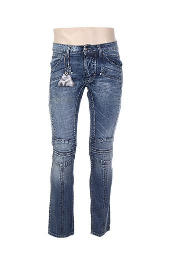 absolut joy jeans femme de couleur bleu