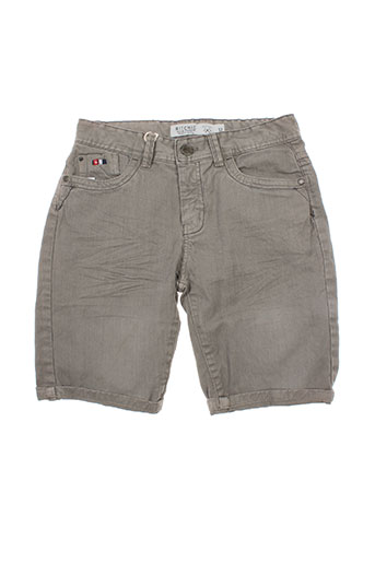 ritchie shorts / bermudas garçon de couleur gris