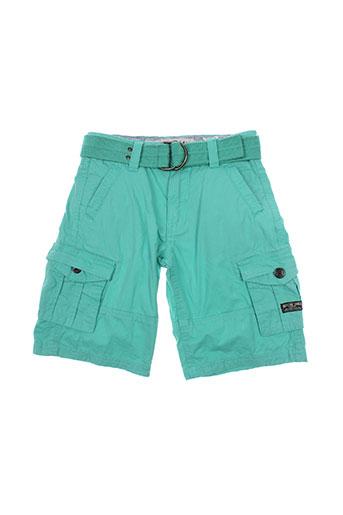 ritchie shorts / bermudas garçon de couleur vert