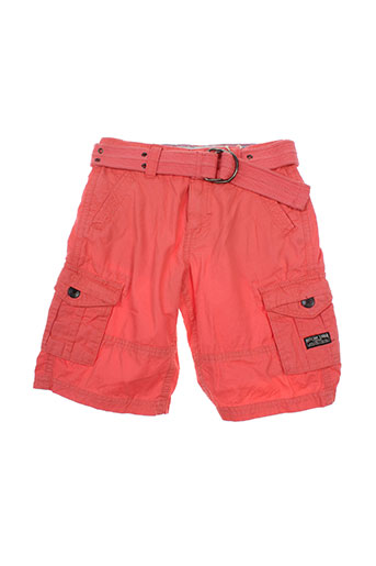 ritchie shorts / bermudas garçon de couleur orange