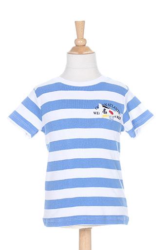week end a la mer t-shirts / tops garçon de couleur bleu