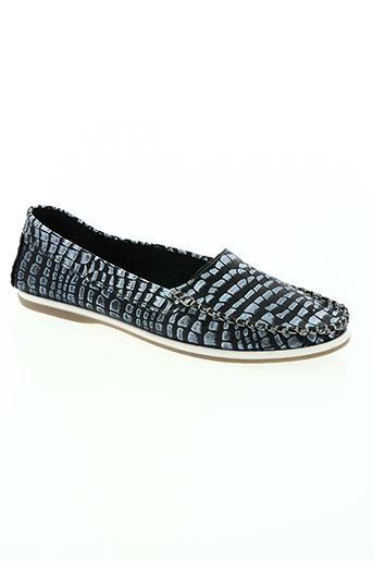 axell chaussures femme de couleur bleu